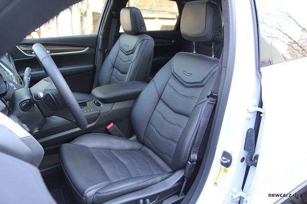 Cadillac XT5 Vordersitze