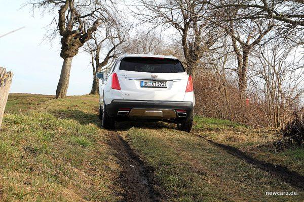 Cadillac XT5 Allradeinsatz