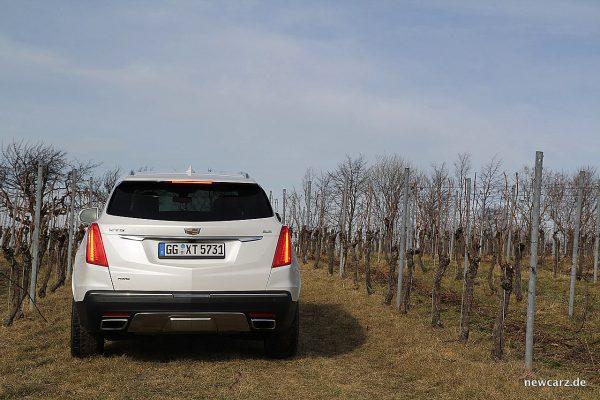 Cadillac XT5 Heckansicht