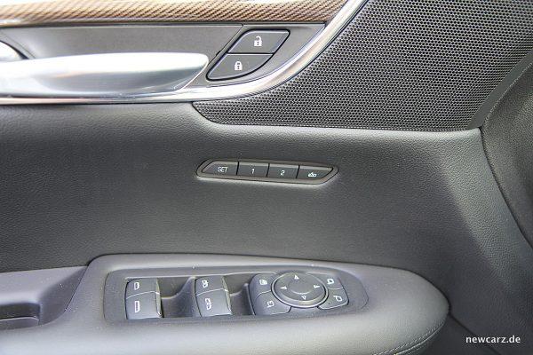 Cadillac XT5 Sitzmemory