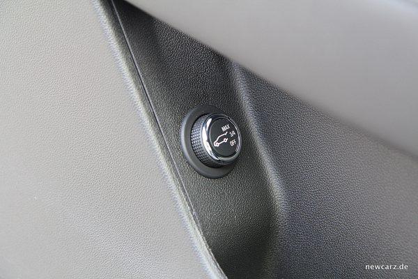 Cadillac XT5 Heckklappenbedienung