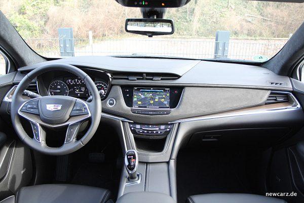 Cadillac XT5 Intrumententafel