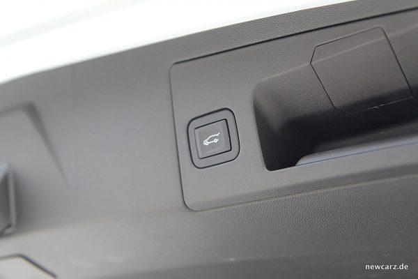 Cadillac XT5 Heckklappenverriegelung