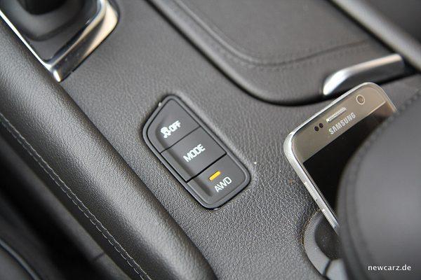 Cadillac XT5 Fahrmodi