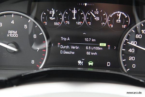 Cadillac XT5 Verbrauch