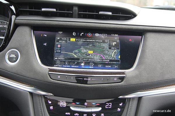 Cadillac XT5 Touchscreen