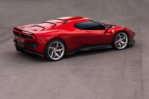 Ferrari SP38 Exterieur