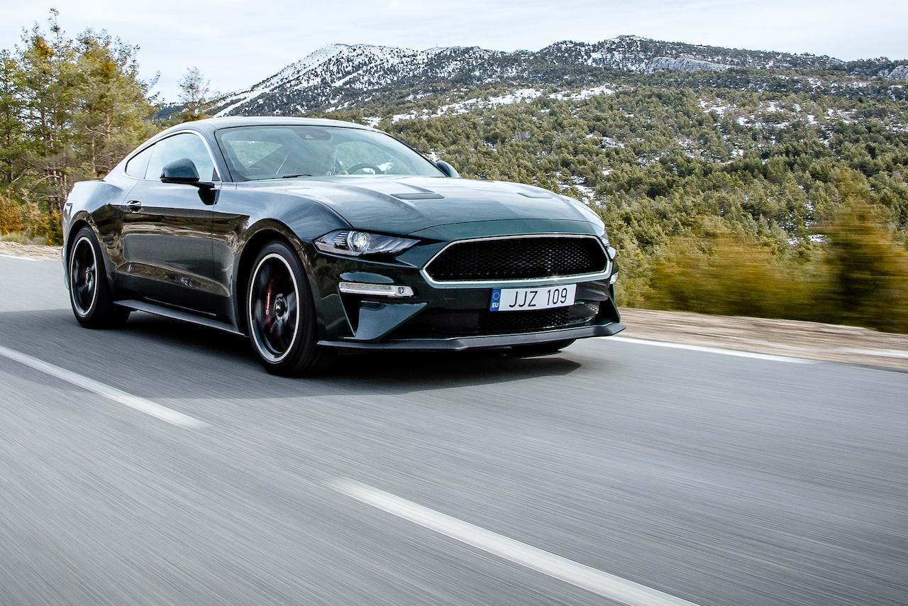 Ford Mustang Bullitt Exterieur