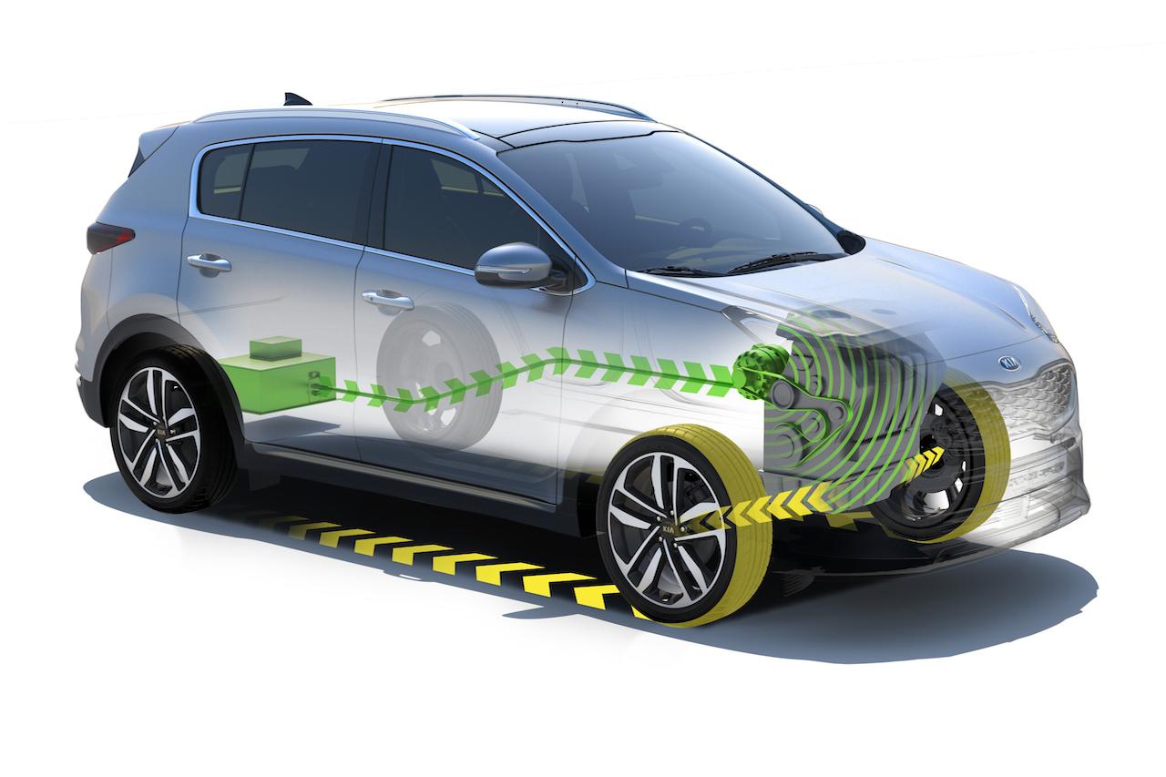 Kia Diesel Hybrid