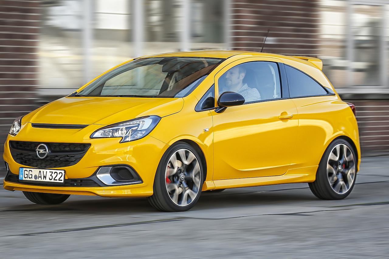 Opel Corsa GSi Exterieur