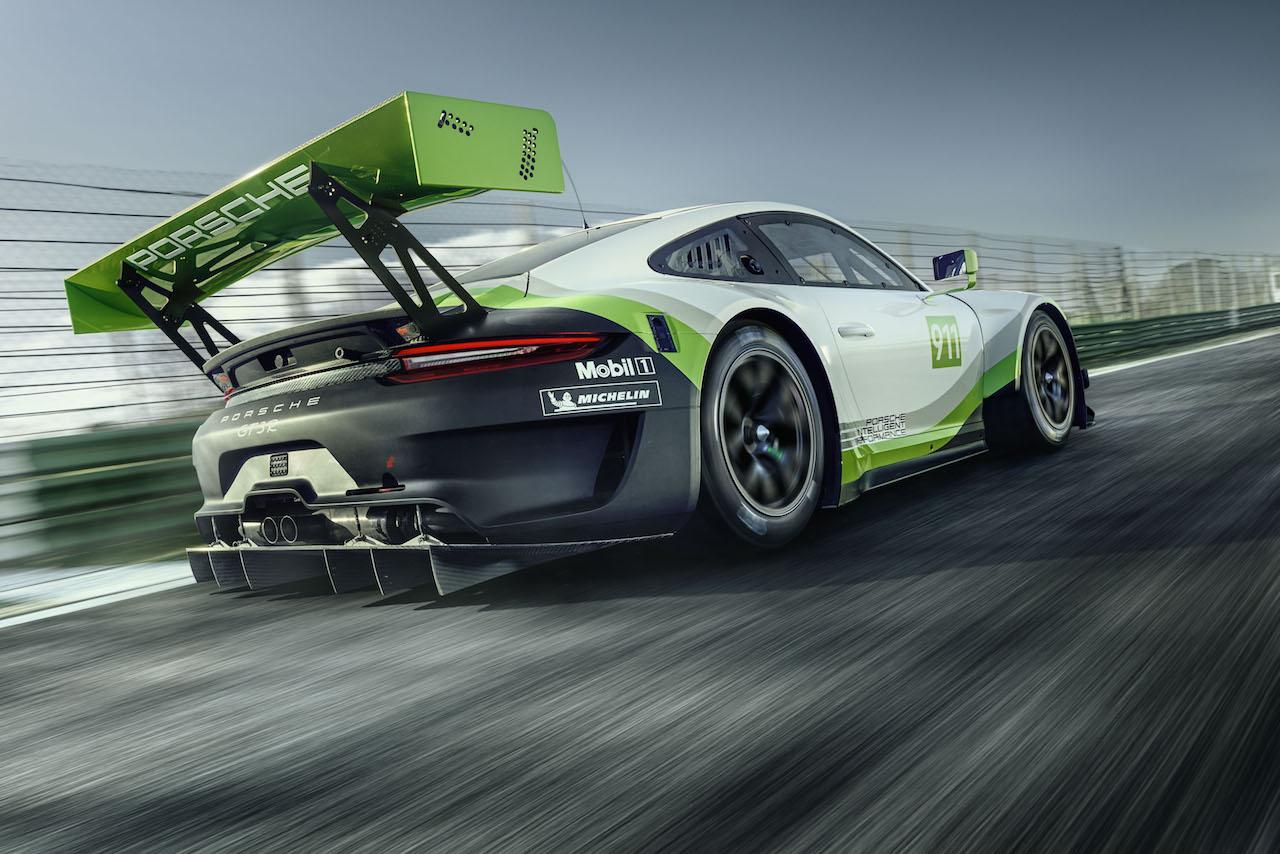 Porsche 911 GT3 R Exterieur