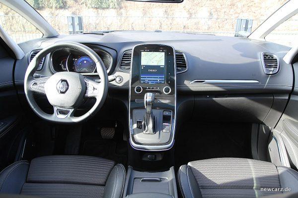 Renault Grand Scenic Instrumententafel