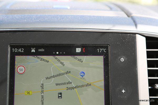 Renault Koleos Dauertest Nachrichtenhinweis