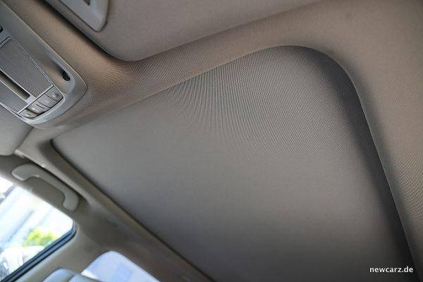 Renault Koleos Dauertest Panoramadach geschlossen