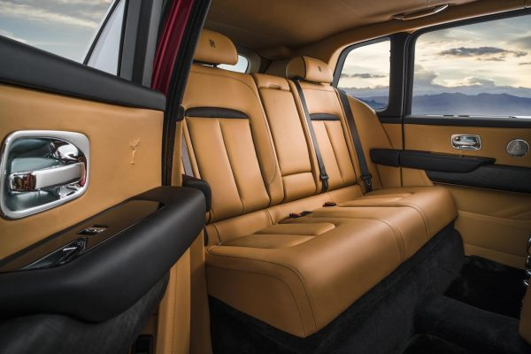Rolls-Royce Cullinan Interieur