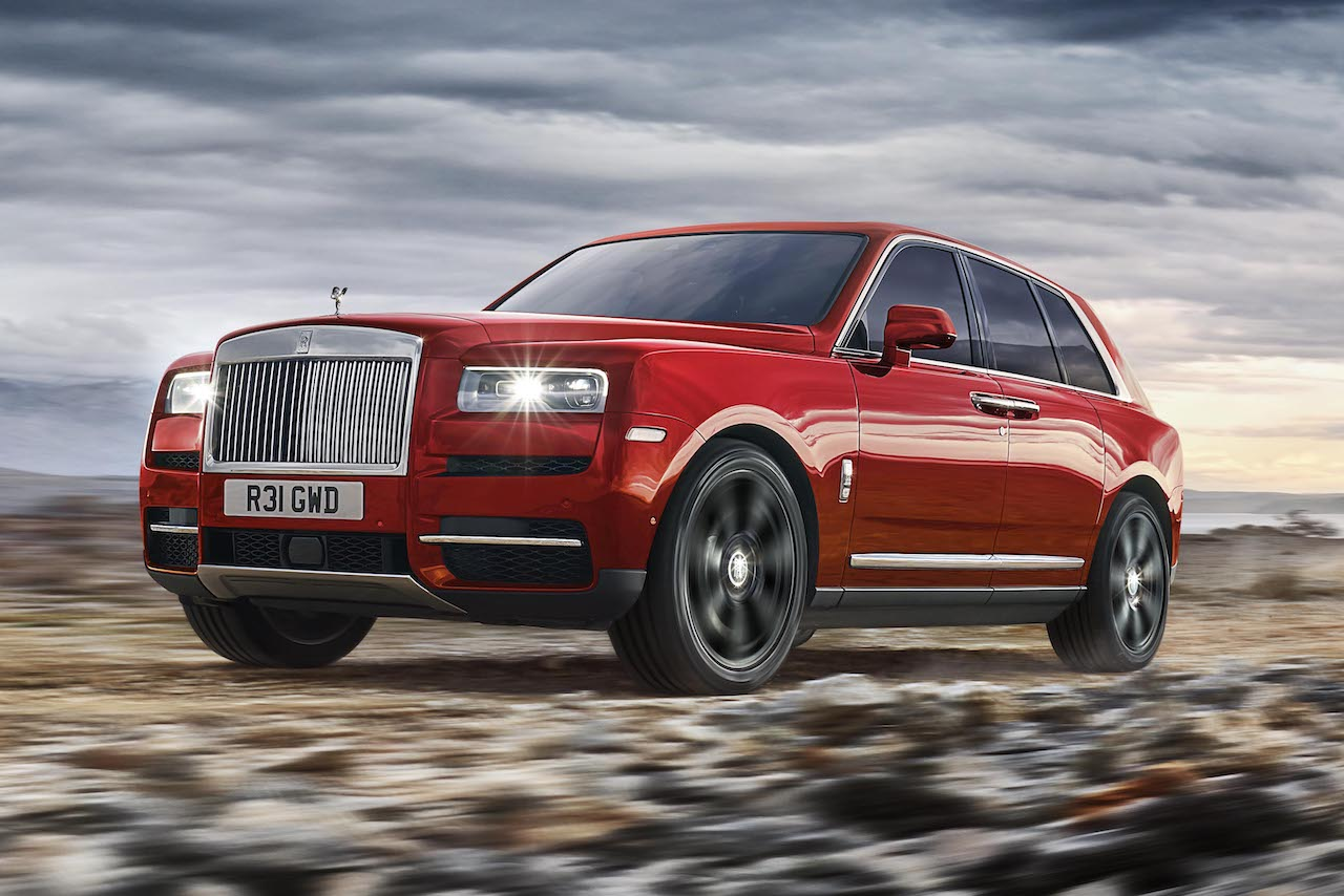 Rolls-Royce Cullinan Exterieur