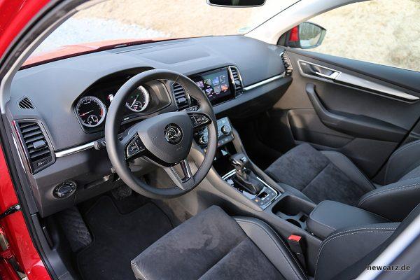 Skoda Karoq 2018 Cockpit