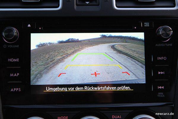 Subaru Forester 2018 Rückfahrkamera