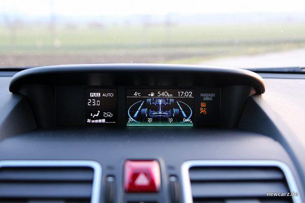 Subaru Forester 2018 Minibildschirm