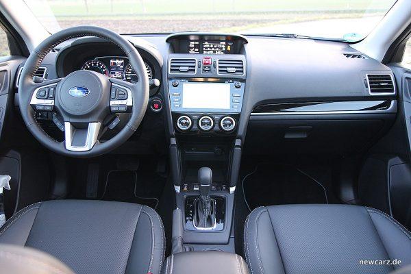 Subaru Forester 2018 Instrumententafel