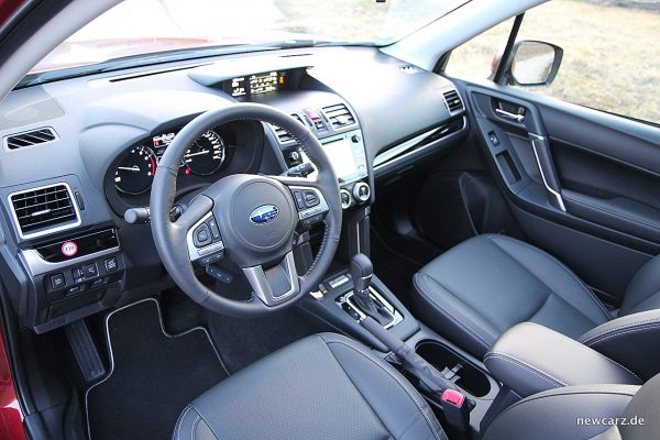 Subaru Forester 2018 Interieur