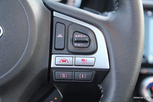 Subaru Forester 2018 Fahrmodi