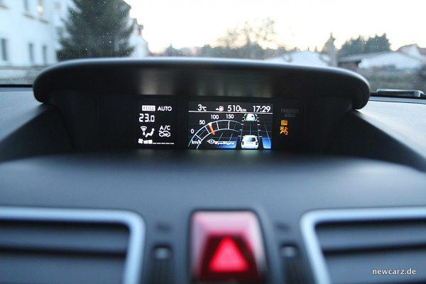 Subaru Forester 2018 Tempomat