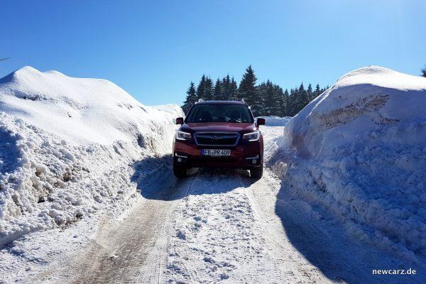 Subaru Forester 2018 Front Schnee