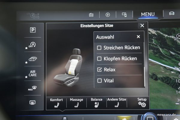 VW Touareg Technik