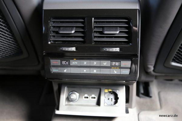 VW Touareg Interieur