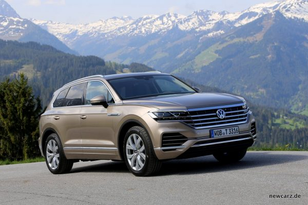 VW Touareg Exterieur