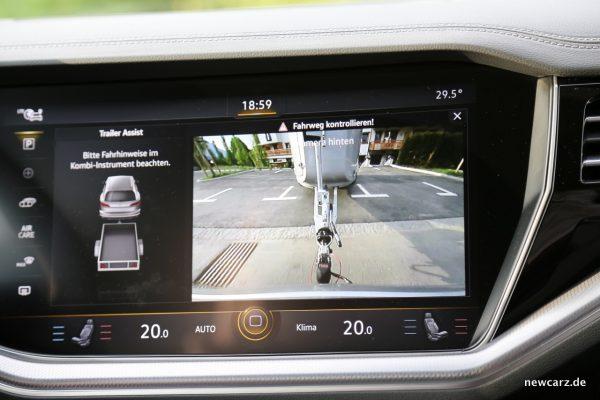 VW Trailer Assist Technik