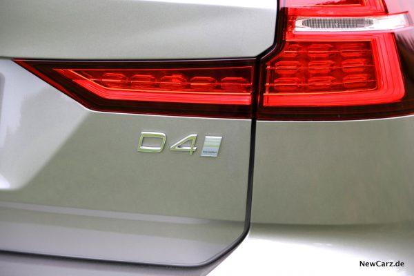 Volvo V60 D4 Heck