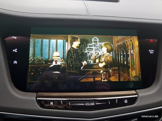 Cadillac CT6 Bildschirm vorn