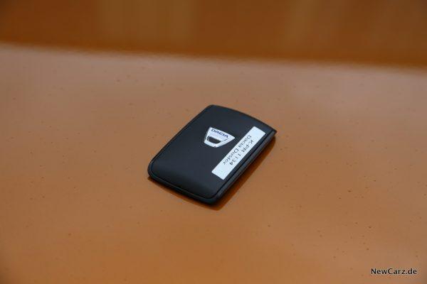 Dacia Duster 2018 Keycard Handsfree