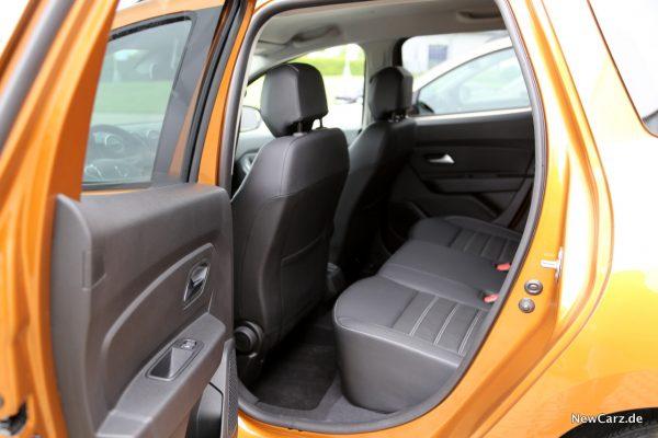 Dacia Duster 2018 Rückbank