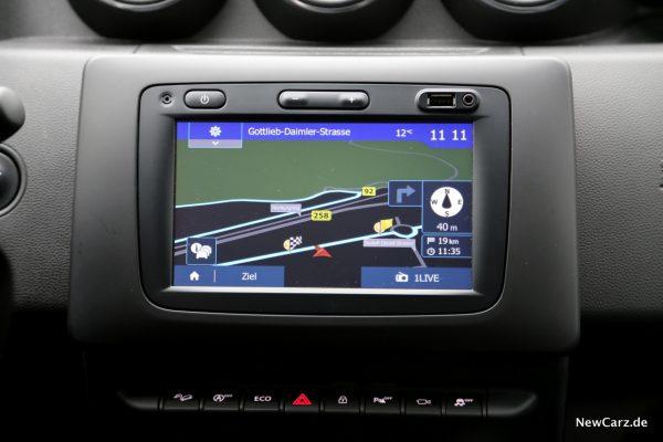 Dacia Duster 2018 Navigationssystem