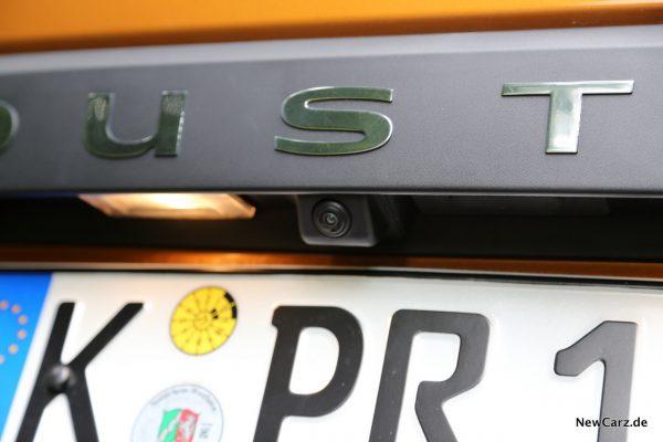 Dacia Duster 2018 Rückfahrkamera