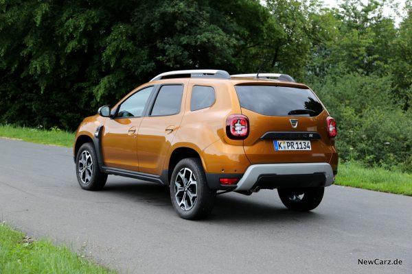 Dacia Duster 2018 Heck