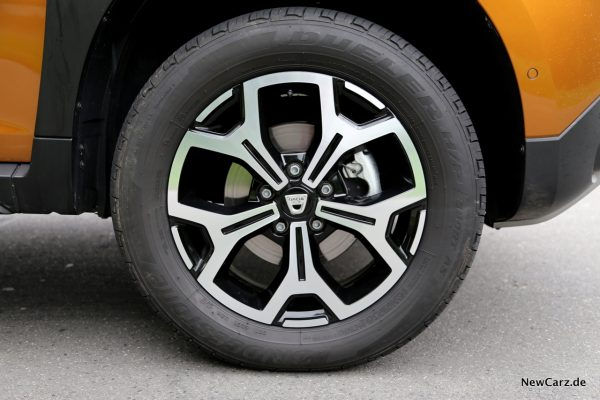 Dacia Duster 2018 17 Zoll Felgen