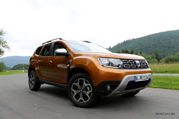 Dacia Duster 2018 Front Seite