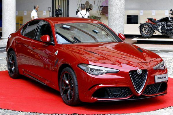 Die Alfa Romeo Guilia gewann den Compasso d'Oro.