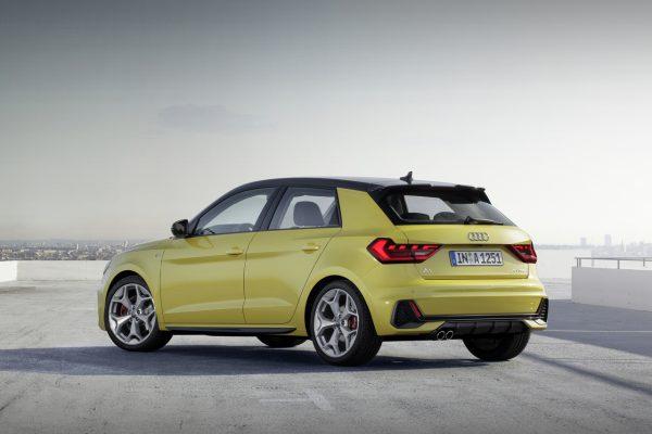 Audi A1 Sportback schräg hinten
