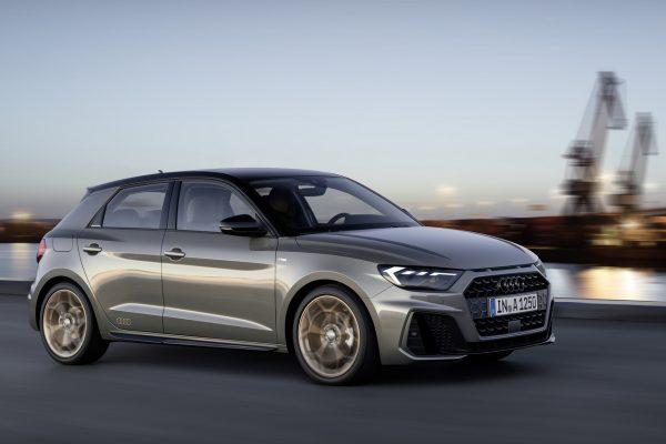 Audi A1 Sportback schräg seitlich vorn