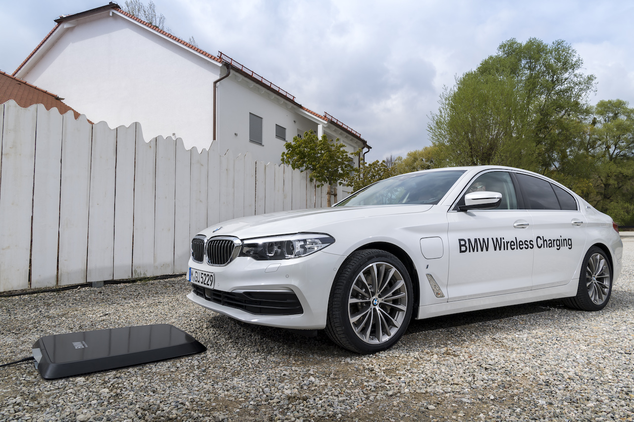 BMW Wireless Charging Beispiel