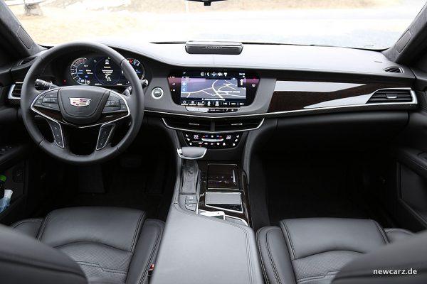 Cadillac ct6 oberklasse calling europe for Interieur gegenteil