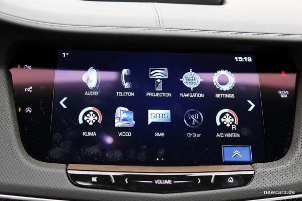 Cadillac CT6 Touchscreen