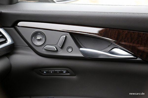 Cadillac CT6 Sitzverstellung