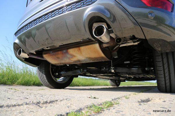 Ford Kuga Vignale Abgasanlage