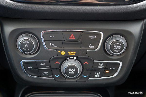 Jeep Compass Drehregler